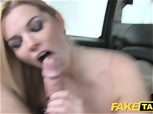 fake taxi gigantic natural hooters on blonde model