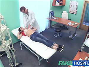 FakeHospital fantastic Russian Patient needs hefty rigid trouser snake
