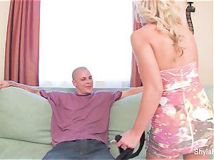 Shyla Stylez shares a enormous fuckpole with Aubrey Addams