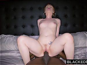 Ella Hughes exerting herself with that massive ebony rod of Mandingo