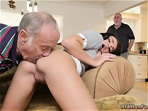 damsel in stockings and 2 women moviekup riding the old pink cigar!