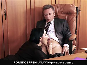 pornography ACADEMIE - anal invasion hump for Ania Kinski in 3some