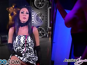 JessicaJaymes - Jessica takes 2 boners like a champ