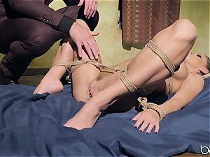 Jessa Rhodes screwed by draped super-naughty boy Charles Dera
