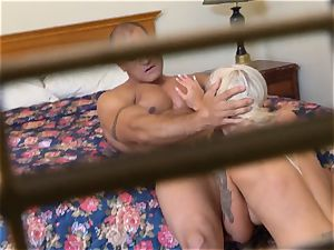 insatiable Nina Elle bangs her guy at the hotel