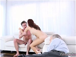 daddy fucking partner s daughter-in-law cam Scary vids With Stepbro