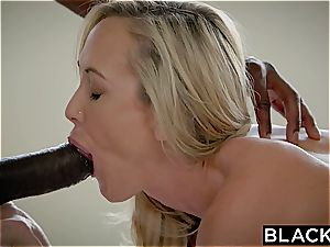 BLACKED hotwife mummy Brandi loves first meaty dark-hued beef whistle