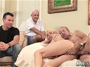 blond cougar wifey take phat meatpipe