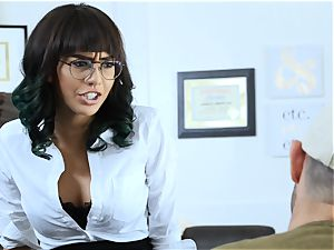 teacher gets a lesson of banging