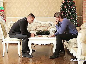 thin teen Gina Gerson Gets dp For Christmas