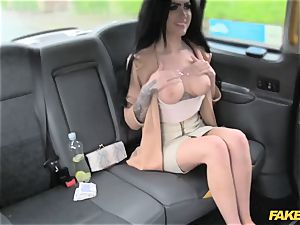 fake cab adorable call girl rails beef whistle for cash