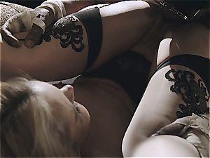 Aaliyah enjoy inserted by a ebony bull