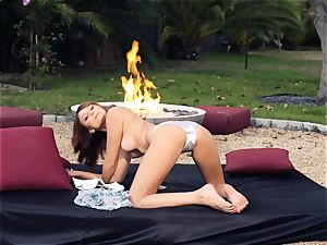 stunning Ariana Marie demonstrates of her supah warm assets