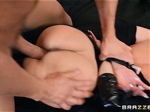 Brandi enjoy ravaged in her moist cooter