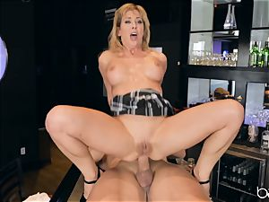 Cherie Deville fondles her vag on Roman