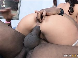 Phoenix Marie gets a well needed hefty black chisel