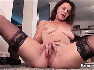 fur covered vagina Ava Austin wank