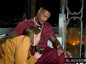 BLACKEDRAW black-haired stunner Gets penetrated Senseless By superior bbc