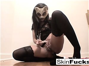 highly horny puss have fun with flesh Diamond