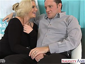 steaming wife Phoenix Marie gets rosy cunt ravaged