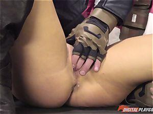boner deep-throating ultra-cutie Peta Jensen in this video parody