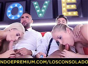 LOS CONSOLADORES - salacious blondes spicy four-way