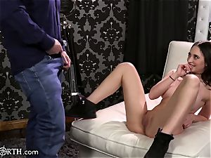 massive boobs Step-Daughter Cannot control her daddy zeal!