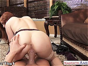 Ginger Penny Pax in pov getting her fuckbox rode