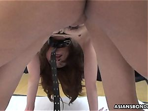 asian impatiently satiates her spouse s furry meat rocket