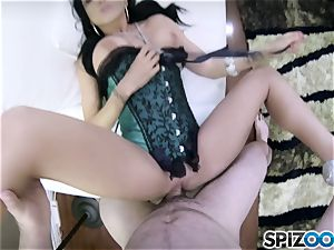 crazy hookup pie Romi Rain banged in her snatch pudding pov fashion