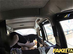 fake cab redhead gets dirty with future sugar daddy