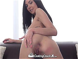 Marley Brinx at porn audition