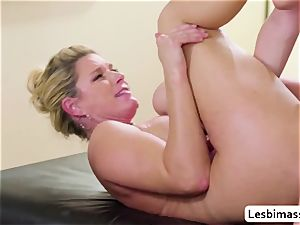 India Summer and Elsa Jean reach their finest ejaculation ever