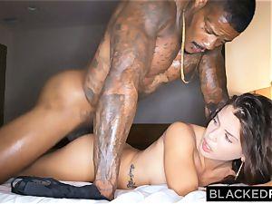 BLACKEDRAW hotwife gf hooks up with ebony guy