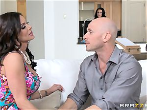 Kendra passion and Peta Jensen share their man