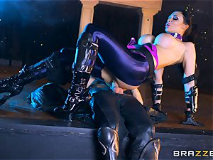 Aletta Ocean inserted with the monster manmeat of Danny D