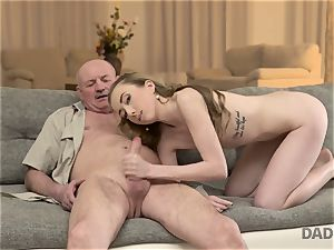 DADDY4K. fuck-a-thon of father and young female completes with sudden internal cumshot