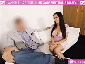 VR PORN-Hot black plowed stiff on valentines day guy point of view