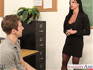bombshell romp teacher nubs Jade plumbing in classroom