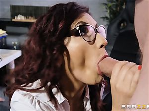 Amina Danger getting screwed by a large man rod