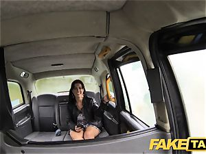 fake taxi tiny bit of ass licking and rectal hump