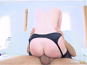 super hot culo brown-haired Veruca James drilled in her ass-hole